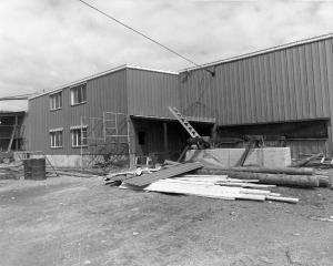 L'usine de sciage Fraser de Kedgwick
