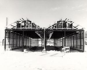 Construction de deux séchoirs à bois à la scierie Fraser de Kedgwick