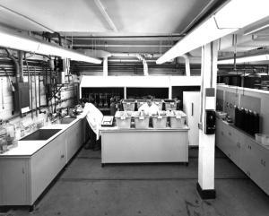 Recherche sur la pollution en 1970