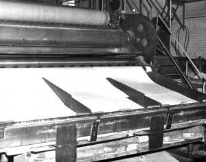 Carton pour boîtes fabriqué au moulin Fraser d'Edmunston