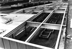 Agrandissement d'un bâtiment en cours