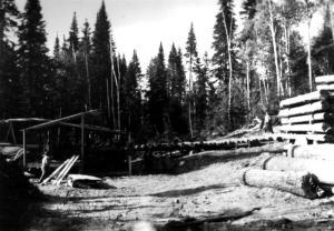 Moulin près du ruisseau Baisley