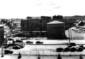 Usine Fraser de Madawaska en 1945