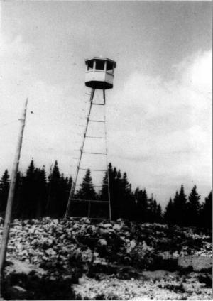 Tour de Costigan Mountain dans la région de Plaster Rock