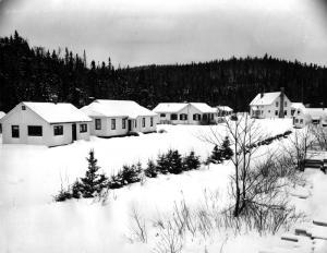 Camp de recherche au Summit Depot