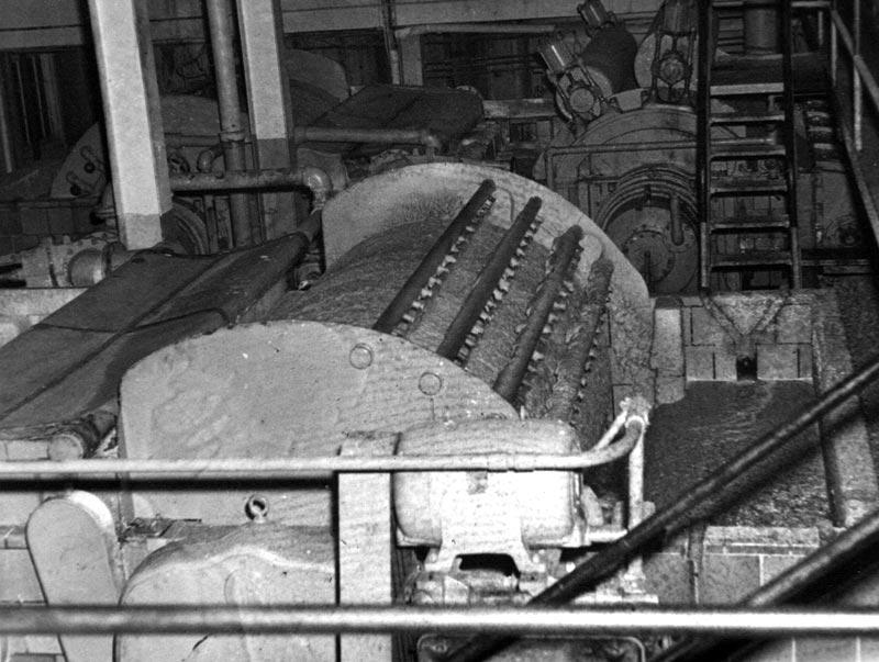 tambour laveur et paississeur au service de blanchiment de l 39 usine fraser d 39 edmundston. Black Bedroom Furniture Sets. Home Design Ideas
