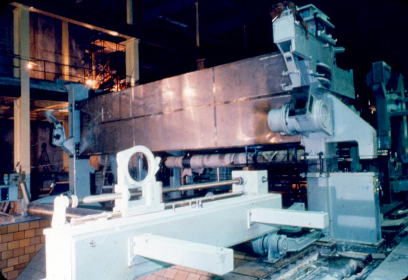 L 39 int rieur de la blanchisserie l 39 usine fraser d 39 edmundston for Interieur usine