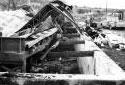 Incendie du moulin de Kedgwick en 1969