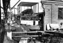 Construction de l'immeuble de la pompe primaire de l'usine Fraser d'Edmundston