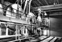 Réservoir pour entreposer les acides de la blanchisserie à l'usine Fraser d'Edmundston