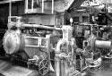 Broyeur dans l'atelier de préparation du bois à l'usine Fraser d'Edmundston