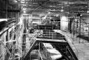 L'atelier de préparation du bois à l'usine Fraser d'Edmundston