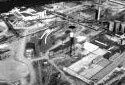 Clarificateur des eaux usées de l'usine Fraser d'Edmundston