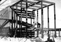 Construction de l'immeuble de la pompe primaire à l'usine Fraser d'Edmundston