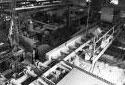L'intérieur de l'usine de sciage de Kedgwick