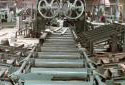 L'intérieur de l'usine de sciage Fraser à Plaster Rock