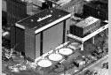 L'emplacement des nouveaux réservoirs d'acide pour l'atelier de lavage de l'usine Fraser d'Edmundston
