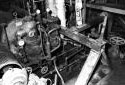 Turbine à vapeur dans le département de carton de l'usine Fraser d'Edmundston