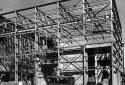 Construction de l'incinérateur à déchets de l'usine Fraser d'Edmundston