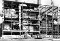 Construction du nouvel agrandissement  de la chaufferie à l'usine Fraser d'Edmundston