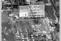 Construction du bâtiment du four de récupération à l'usine Fraser d'Edmundston