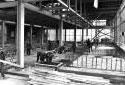 Construction de l'atelier de lavage et triage à l'usine Fraser d'Edmundston