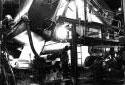 La coucheuse de l'usine de pâte et papier d'Edmundston