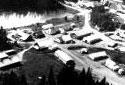 Vue aérienne du Summit Depot