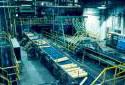 Atelier de préparation du bois à l'usine Fraser d'Edmundston