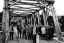 Ouverture du pont Montgomery en 1957