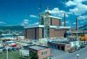 Construction d'atelier de la chaudière de récupération à l'usine Fraser d'Edmundston