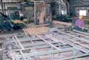 L'atelier de sciage à la scierie  Fraser de Kedgwick en 1971