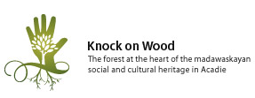 Knock on Wood: The forest at the heart of the madawaskayan social and cultural heritage in Acadie
